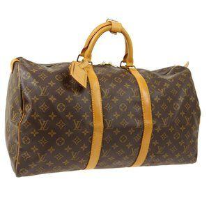 Louis Vuitton Keepall 50 Travel Hand #N2416V48O